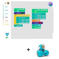 Ressources logiciel dash pour tablettes IOS et Android associées au robot DASH