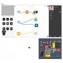 Ressources logiciel SAM pour Tablettes IOS et Android associées à un kit STEAM SAM Labs