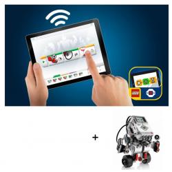 Ressources Logiciel Lego Mindstorms pour tablettes Windows, Android et IOS associées à un ensemble  MINDSTORMS®  EV3