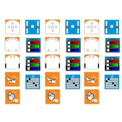 Ressources logiciel THYMIO pour Tablettes Windows associées à un robot THYMIO WIRELESS