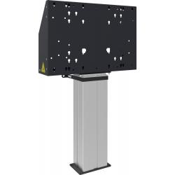 Support élévateur électrique fixe au sol pour écran tactile jusqu'à  86p