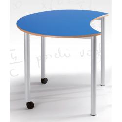 Table semi lune