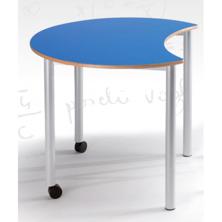 Table semi lune