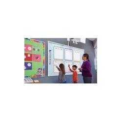 Ensemble complet sur roulettes tableau interactif tactile MimioBoard 871TE 16:10