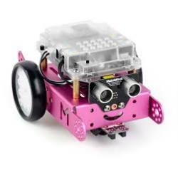mBot rechargeable V1.1-Rose (Bluetooth) - Livré avec sa batterie rechargeable
