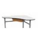 Casier plastique pour table ERGOS Desk21