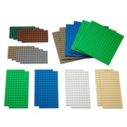 Lot de 22 Petites Plaques des Base Lego Education