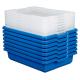 Lot de 7 petites boites de rangement Lego Education