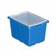 Lot de 6 très grandes boites de rangement Lego Education