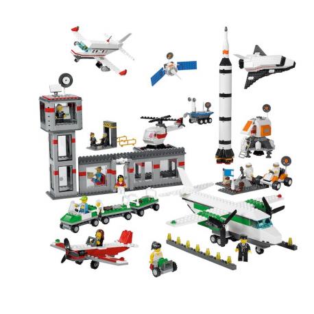 Ensemble Espace et Aéroport LEGO® EDUCATION®