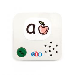Lot de 3 Mini cartes communiquer enregistrables 10 secondes