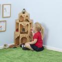 Maison de poupées d'angle