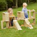 Construisez un site en blocs de bois