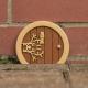 Collection de portes en bois