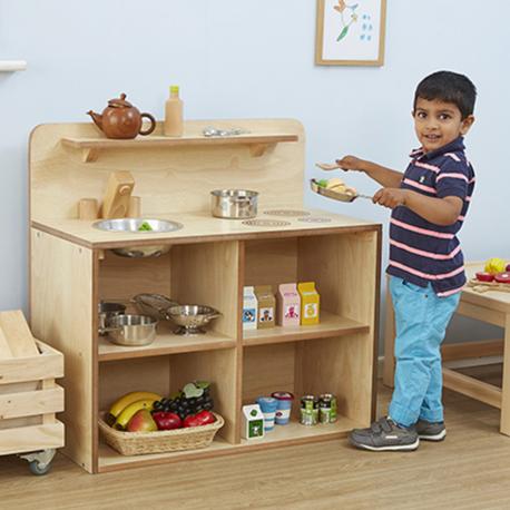 Espace cuisine pour tout-petits