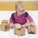 Boîtiers à formes pour bébés