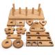 Blocs de construction et à empiler en bois