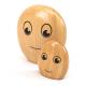 Galets joyaux en bois