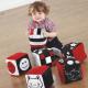 Cubes tissu bébé