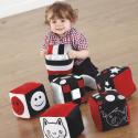 Cubes tissu pour bébé
