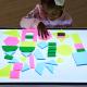 Formes en acrylique pour boîtes lumineuse