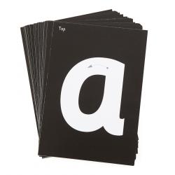 Encarts pour mini tableau lumineux (Alphabet, 26 pièces)