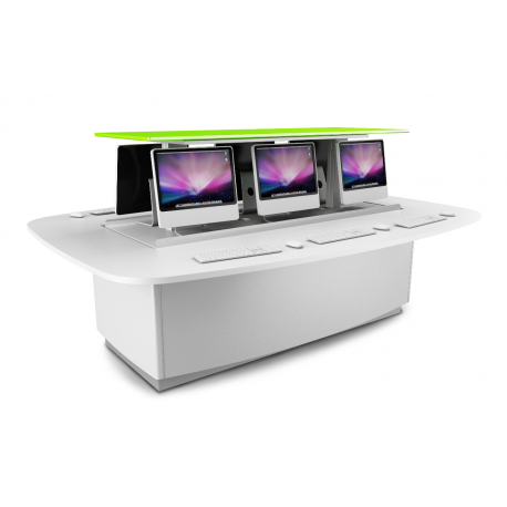 Table de bureau zioxi Power Up électrique pour 5 ordinateurs