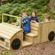 Camion d'extérieur en bois