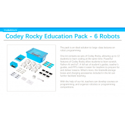 Pack Education Codey Rocky - 6 Robots