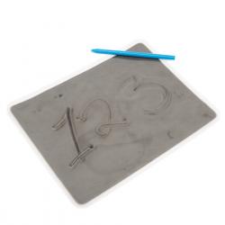 Tablette à gel magnétique grand format  (1 Tablette et 1 stylo)