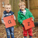 Tuiles alphabet d'extérieur