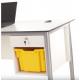 bureau de l'enseignant en bois compact Zioxi