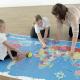 Tapis carte du monde pour Bee-Bot