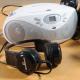 Lecteur de CD avec 6 casques Easi-Headphones