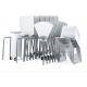 Table pour étudiant 180° mobile et pliable en bois compact  Zioxi