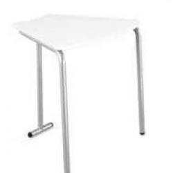 Table pour étudiant 60° en mélaminé 53 cm Zioxi