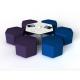 Tabouret pour enfant en forme d'hexagone Zioxi