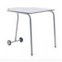 Table pour étudiant 180° mobile et pliable en bois compact 53 cm Zioxi