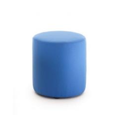 Grand tabouret cylindrique en tissu Zioxi