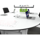 Table collaborative ajustable pour 6 personnes Zioxi