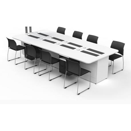 Table de bureau pour 8 ordinateurs zioxi M1