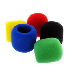 Pack de 5 bonnettes colorées the t.bone Windscreen Set WS5