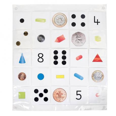 bee-bot tapis de poche ( 5 x 5 )