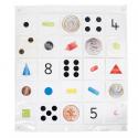 BeeBot / Bluebot Tapis Transparent à pochettes 8 x 8