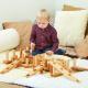 Construction de Pile en bois