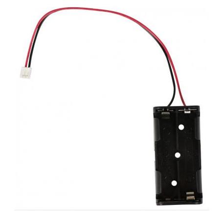 Compartiment pour batterie 2xAAA avec connecteur JST Kitronik