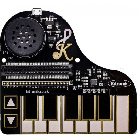 Klef Piano pour la BBC micro: bit Kitronik