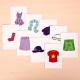 Carte pour porte féerique (Vêtements)