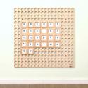 Cartes alphabétique pour mur