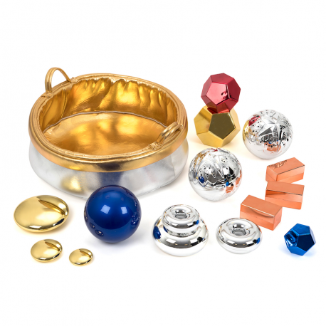 Panier de collection métallique